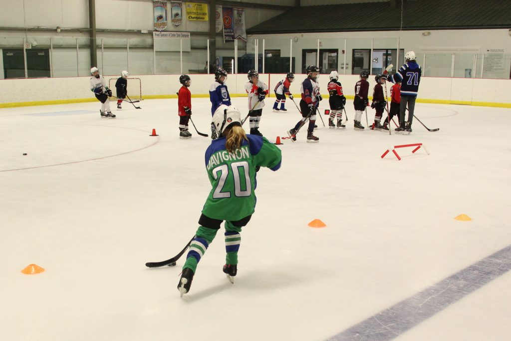 Hockey Player Learning Drills